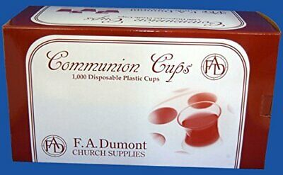 Disposable Communion Cups-Box of 1000