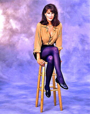 1980's JAMIE LEE CURTIS color glamour period photo