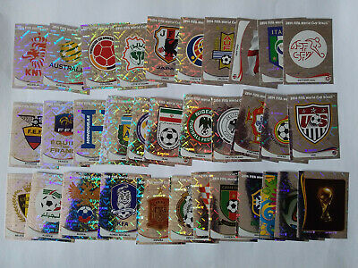 Panini Wc Coupe Du Monde Bresil 2014 Brasil Lot De 1 3 5 10 Brillantes Au Choix