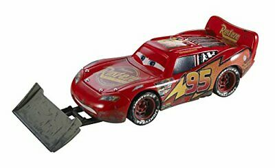 Disney Cars Pixar Die-Cast Lightning McQueen with Shovel Vehicle
