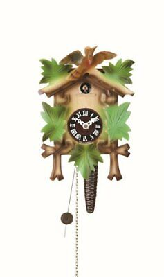 Trenkle Quarter call cuckoo clock with 1-day movement Five leaves, bird TU 619 b