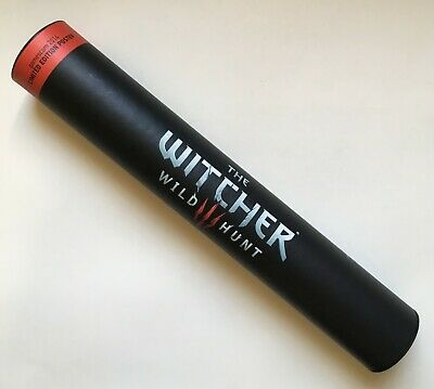 The Witcher 3 Wild Hunt Limited Edition Poster Gamescom 2014 Exlusive #874 Rare