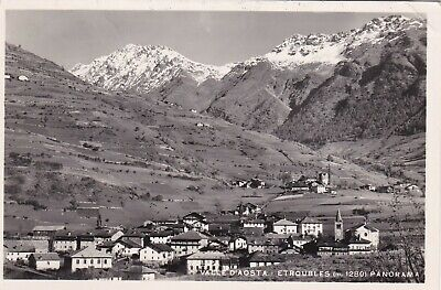 Valle D'aosta  -  Etroubles  -  Panorama