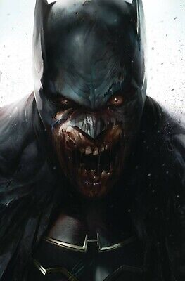 DCeased 1 FRANCESCO MATTINA VARIANT NM ZOMBIFIED BATMAN ZOMBIES