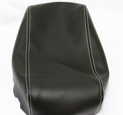 Fits 05-07 Dodge Magnum Vinyl Leather Red Stitch Ctr Console Lid Armrest Cover