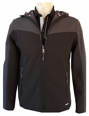 Soft Shell Jacket Wind Water Resistant Stylish Casual Jacket water repellant