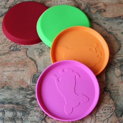 Dog Flying Disc Tooth Resistant Outdoor Large Dog Training Fetch Toy Pip  BB