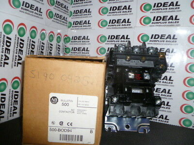 Allen Bradley 500Bod94 Contactor New In Box