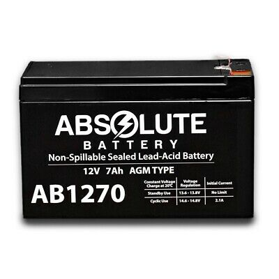 4 Pack New AB1250 12V 5AH Replaces Battery for Eaton Powerware PW3105-500 VA UPS