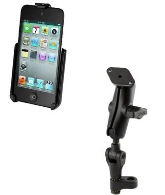 Twist & Tilt Bike Motorcycle Mirror Mount for Apple iPod Touch 4th Generation