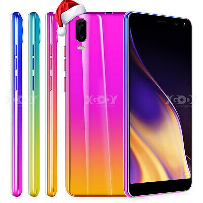 Android 8.1 Unlocked Cheap Cell Phone Dual SIM 4 Core 3G ATT T-Mobile Smartphone