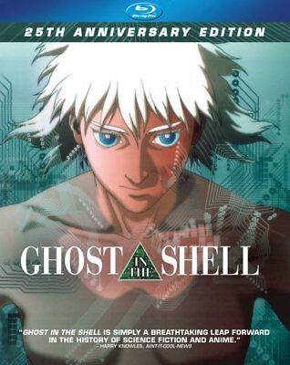 NEW Ghost in the Shell Blu ray Disc 1995 MOVIE 25th AnniverEDITION Mamoru Oshii