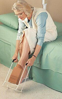 Russka 26011200Sock and Stocking Aid Compression Stockings, White