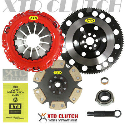 Xtd Stage 4 Clutch & Chromemoly Flywheel Kit 02-06 Rsx Base Type-S / 02-15 Civic