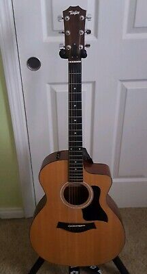 Musical Instruments & Gear Taylor 114ce Acoustic Electric Guitar 2015 Vgc 100 Series can End Anytime Soon