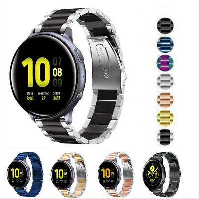 Stainless Steel Watch Band Metal Strap For Samsung Galaxy Watch Active 1 2 40 44