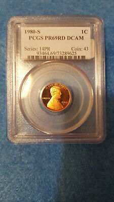 1980-S Lincoln Cent Proof 69 Red DCAM – PCGS #73289625