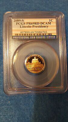 2009-S Lincoln Cent Proof 69 Red DCAM – PCGS #20984703 - Lincoln-Presidency