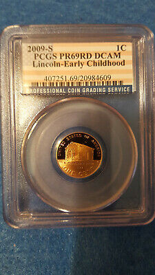 2009-S Lincoln Cent Proof 69 Red DCAM – PCGS #20984609 - Lincoln-Early Childhood