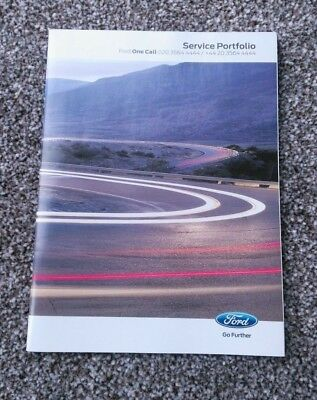 Ford B-Max (2010 - 2016) Fiesta Service History Book Stamped