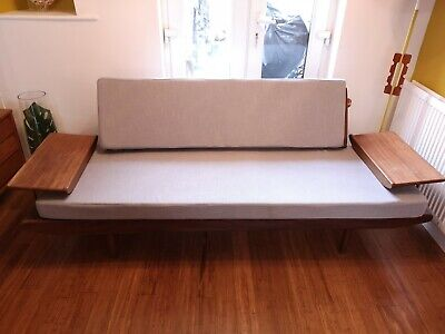 1960S TEAK DAYBED SOFABED SOFA SETTEE BY TOOTHILL retro vintage Mid Century