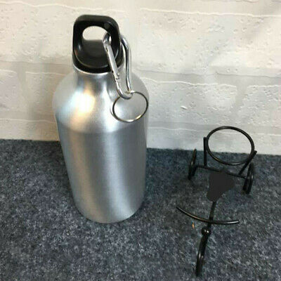 Stainless Steel Water Bottle Single Wall Vacuum Insulated Sports Gym Metal Flask