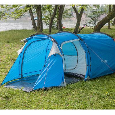 3/6 PERSON FAMILY Tent Pop UP Build Fast Instant Camping Tunnel Shelter  Mult Use