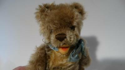 1950's 60's STEIFF ZOTTY BEAR FULLY JOINTED MOHAIR 17CM 7 INCHES UNMARKED