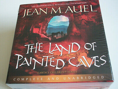 """JEAN M. AUEL """"The Land of Painted Caves"""" UNABRIDGED 25 x CD Audiobook"""