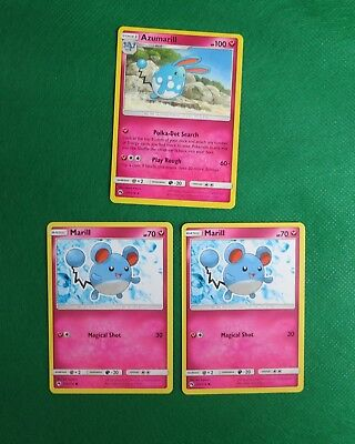 AZUMARIL 2//123 Rara Holo Foil in Italiano POKEMON HEARTGOLD SOULSILVER
