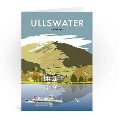Ullswater Cumbria Greetings Card - Dave Thompson, The Lake District