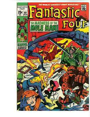 Fantastic Four # 89 - August 1969  - Silver Comic Box - Free Shipping