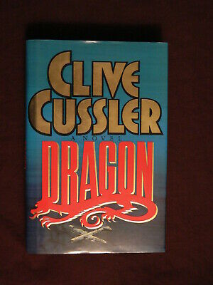 Dragon by Clive Cussler 1st Edition, 1st Print, Hardcover, 1990