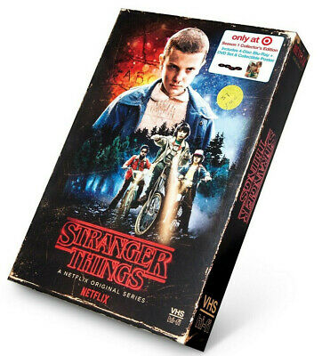 Stranger Things Season 1 Collector's Edition: Target Exclusive (Blu-ray + DVD)