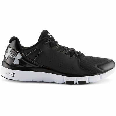 Under Armour Men's Micro G Limitless TR Athletic Shoe (Black/White) 1264966 001