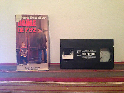 Big Daddy / drole de pere VHS tape & sleeve FRENCH