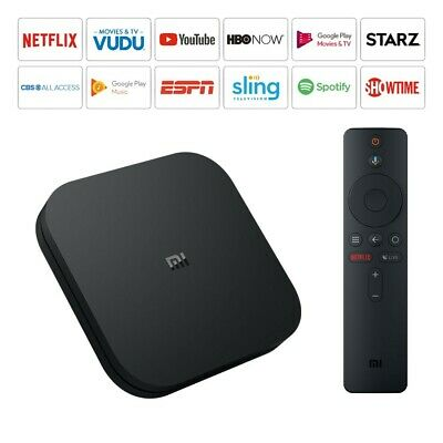 Xiaomi Mi TV Streaming Media Player Box S 4K HDR Android Google Assistant Remote