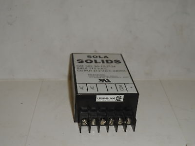 Sola Electric 85122124 0 New