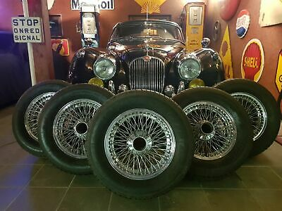 Jaguar MK2 steering wheels + new tires