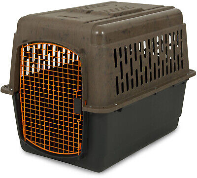 36 Portable Large Kennel Plastic Travel Crate Carrier Dogs Weighing 50-70 lbs