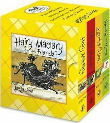 NEW Hairy Maclary Mini board book set little library by Lynley Dodd