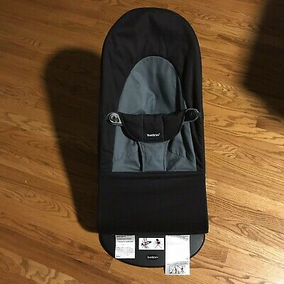 168a9918a5a BabyBjorn Bouncer Baby Bjorn Balance Soft Cotton Black Infant Baby Toddler  Chair