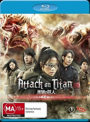 Attack on Titan Blu-ray, Hangeki No Noroshi Japanese with English subs, New AUS