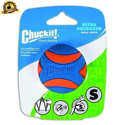 Chuckit Ultra Squeaker Ball Durable High Bounce Chewable Dog Toy