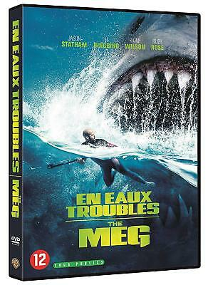 DVD EN EAUX TROUBLES THE MEG Jason Statham NEUF SOUS BLISTER