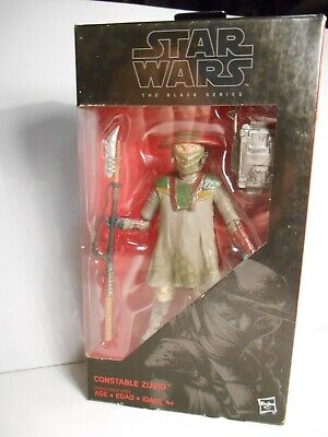 "Star Wars the Black Series Constable Zuvio # 09 - MIB  6"" Action Figure"