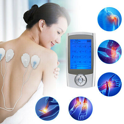 Rechargeable Tens Machine Digital Full Massager Therapy Pain Relief Acupuncture