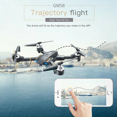 GW58/XT-1 FPV Foldable Selfie Drone With 720P 2.4G HD Camera RC Quadcopter Toy
