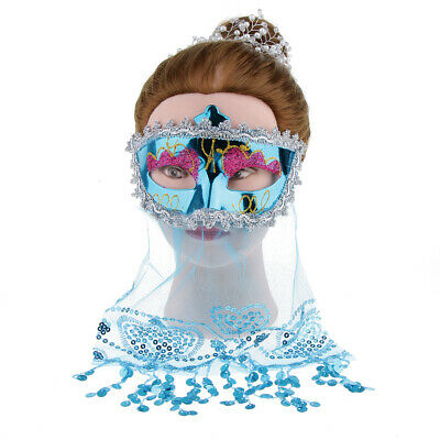 Mesdames Femmes Dentelle Masque Yeux Vénitien Mascarade Bal Prom Party Halloween Costume