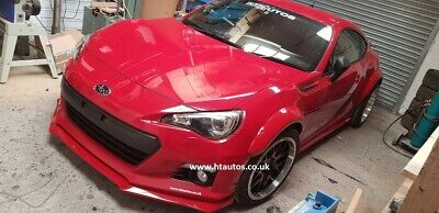 Subaru BRZ Fender Flares / wide arch body kit. PU. HT Autos UK.